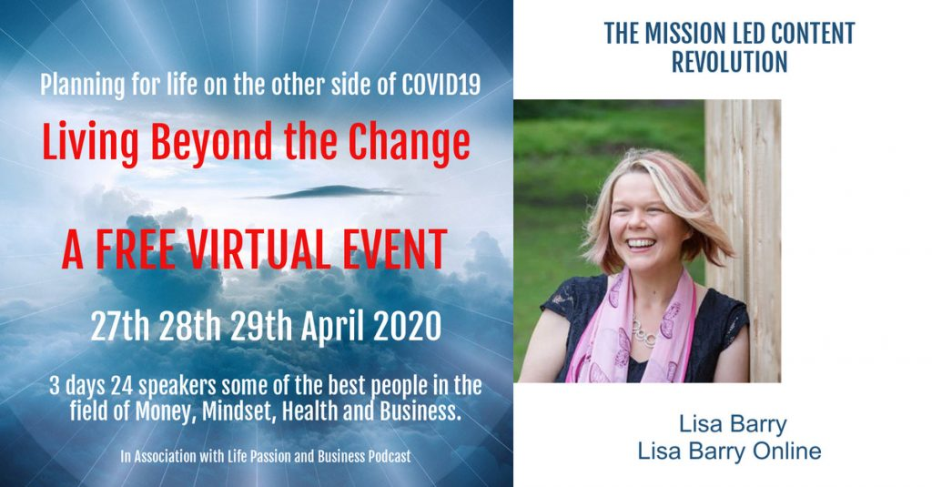 Lisa Barry Mission Led Content