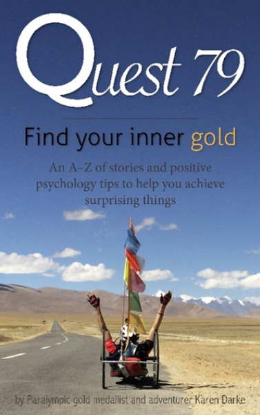 Karen Darke Book Quest 79 Find Your Inner Gold