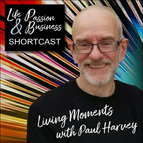 Life Passion & Business Podcast I'm So Excited Shortcast Image