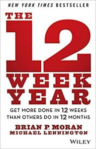 Books Paul recommends: The 12 Week Year