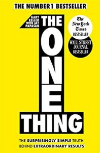 Books Paul recommends: The One Thing: Books