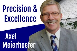 Axel Meierhoefer Precision & Excellence podcast feature